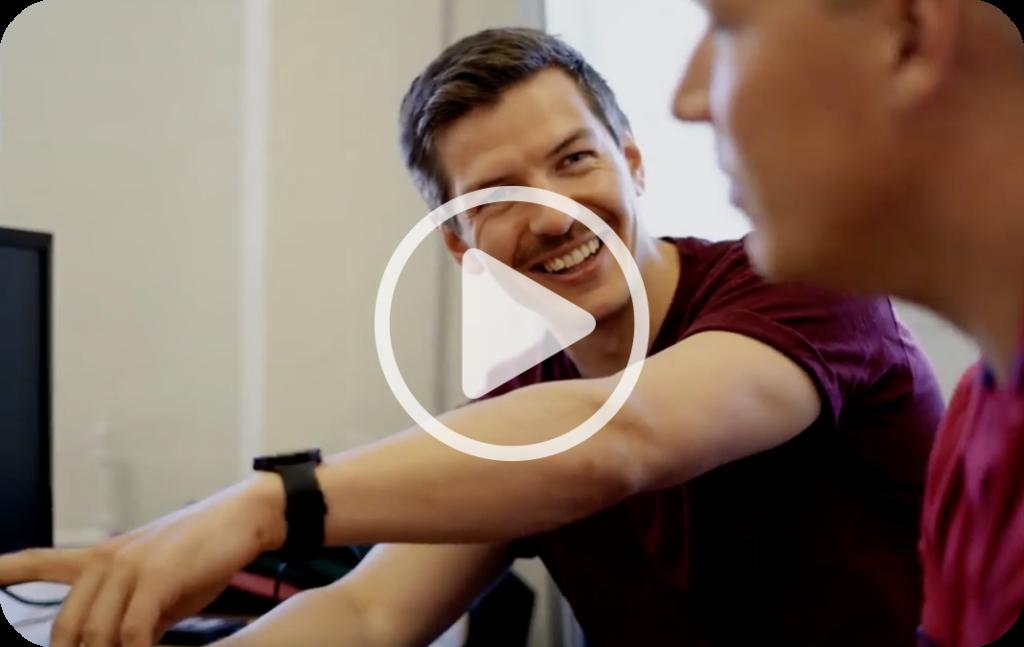 Luomustudion Sami Sillman kertoo videolla kokemuksestaan Inhousen myyntipalveluista